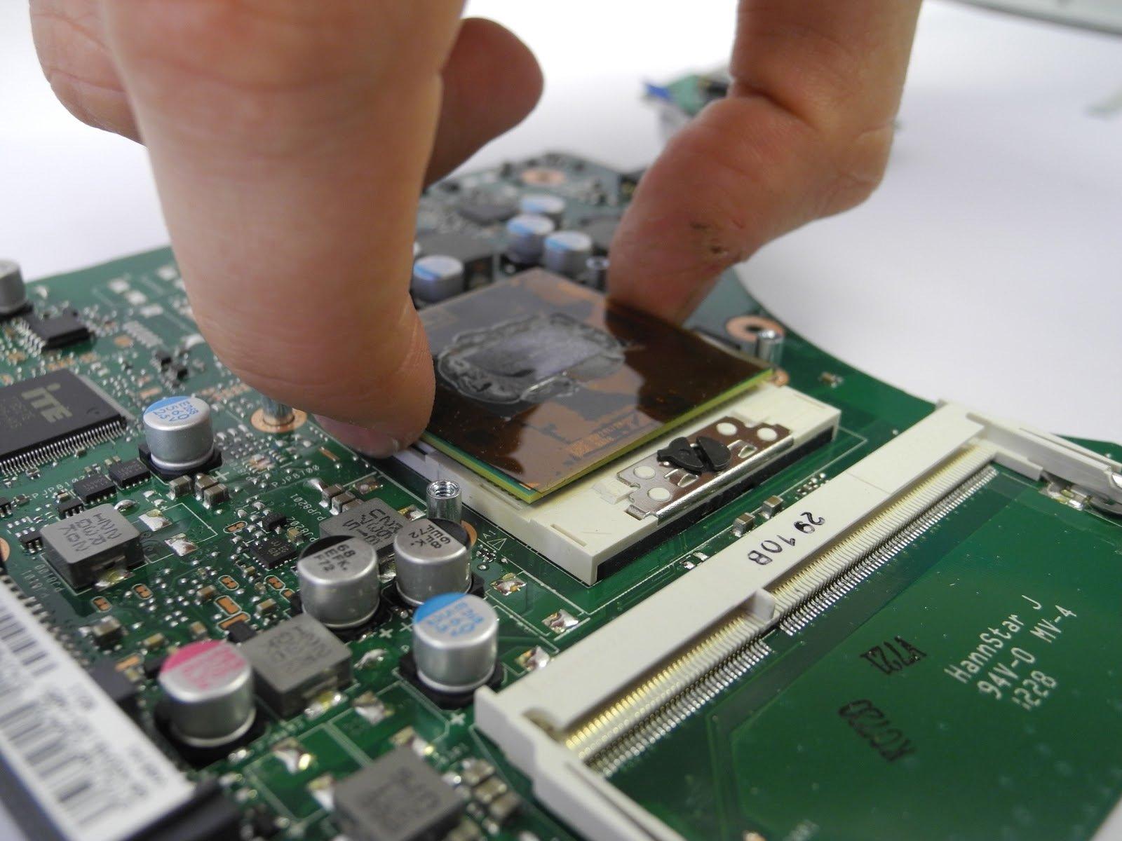 Замена процессора Asus X401A