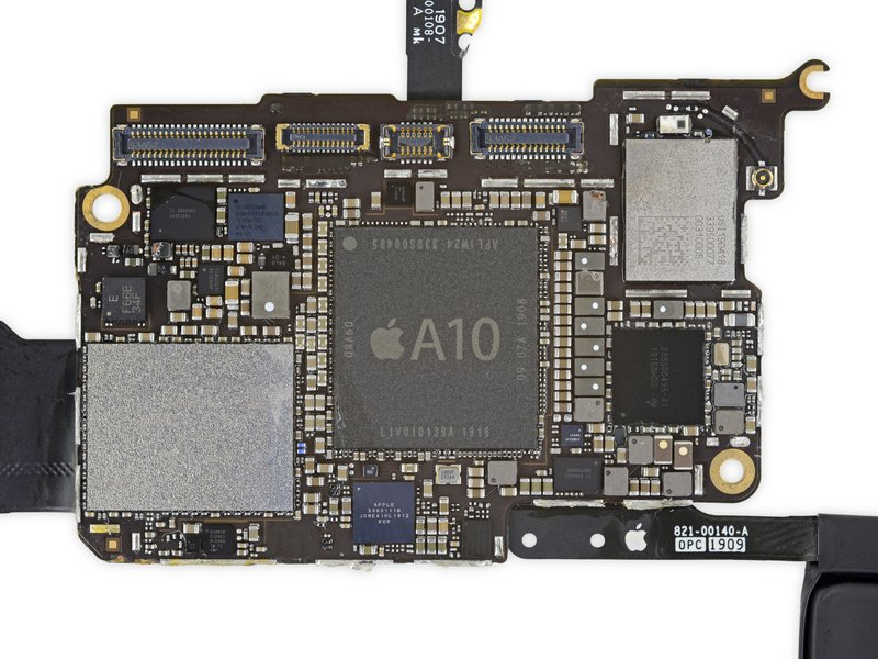 Apple A10 SoC in the iPod touch