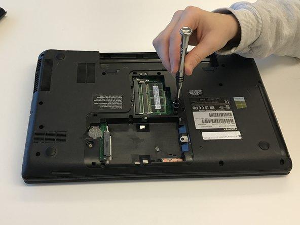 Remove hard drive cover.