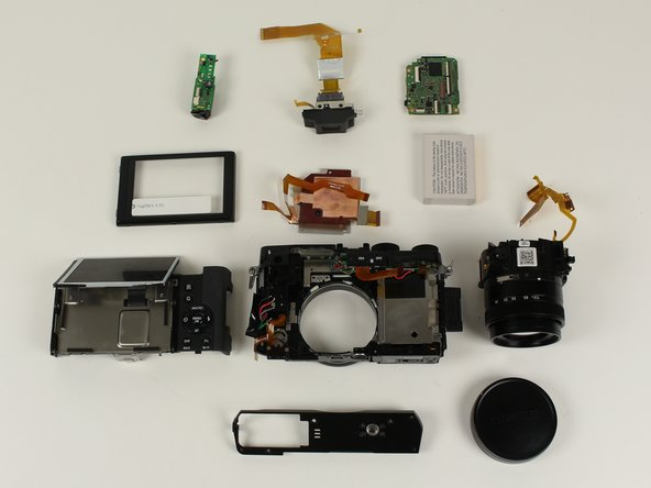 You have disassembled the Fujifilm X30 camera!