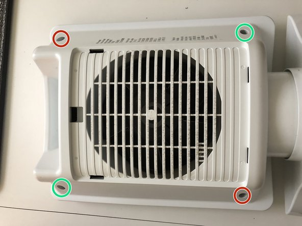 This is the Ceramic Heater Grill. NOTE: The Touch Panel & The Ceramic Grill are all one piece and make up the Front Cover.