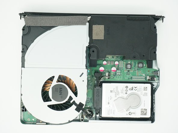 The BD drive should now be completely detached from the rest of the device, and it can be set aside.