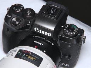 Canon EOS M5 Teardown