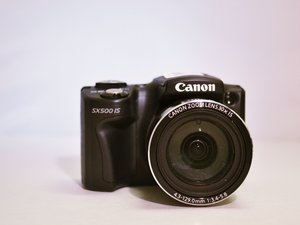 Canon PowerShot SX500 IS Repair