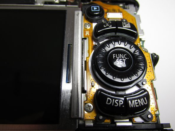 Canon PowerShot SX120 IS Control Dial Replacement