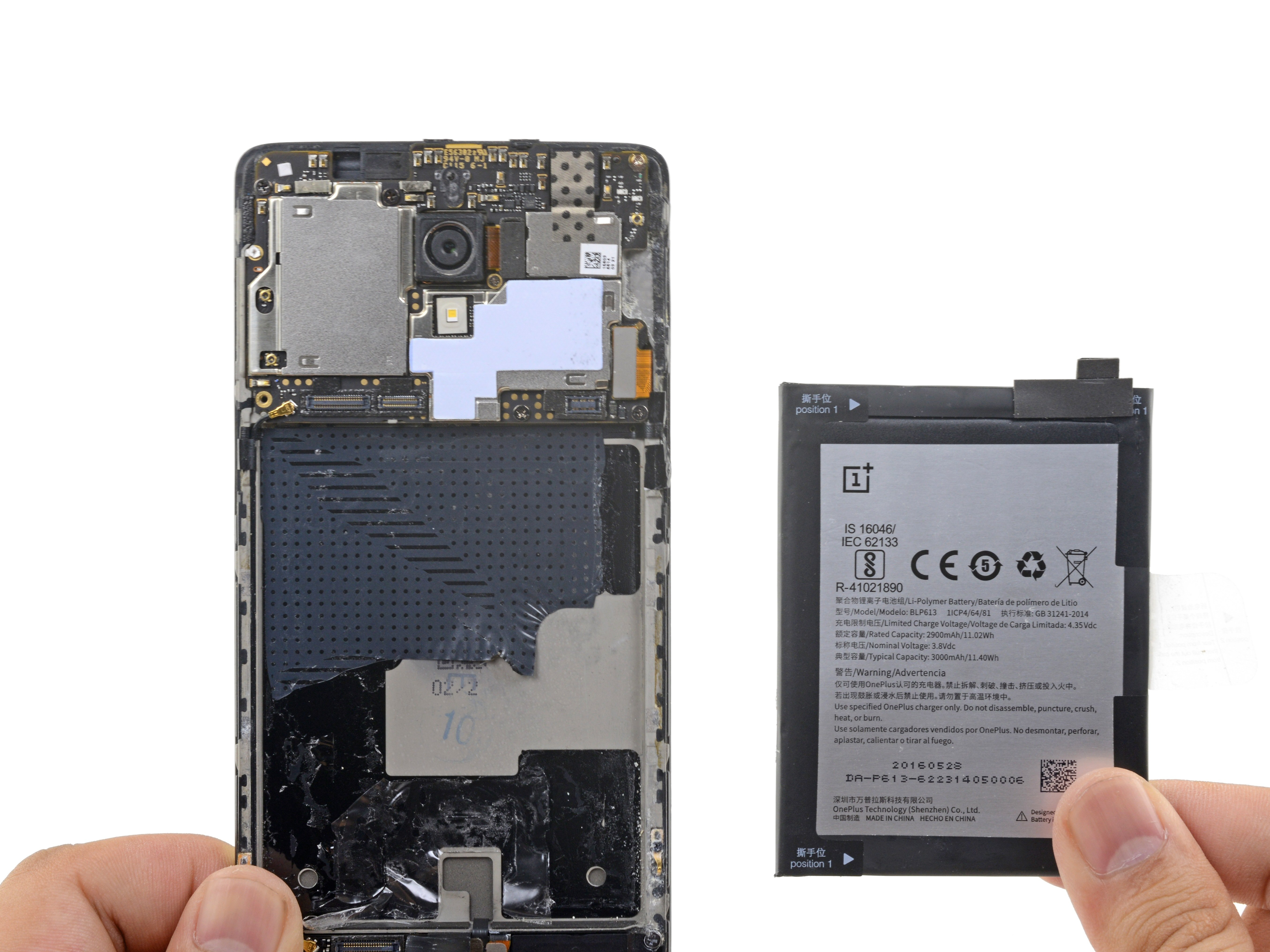 OnePlus 3 Battery Replacement - iFixit Repair Guide