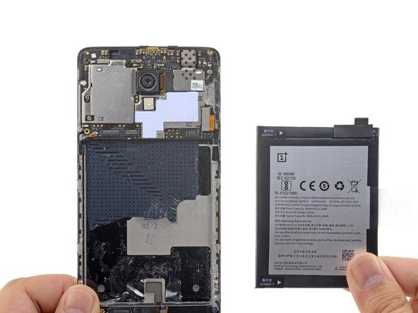 Remplacement de la batterie du OnePlus 3