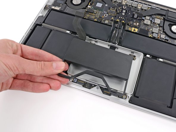 Remove the SSD assembly from the upper case.