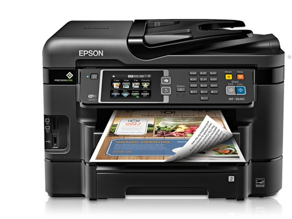 Epson WF-3640 Firmware Upgrade