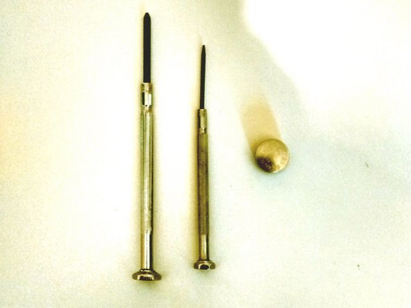 One 1.5mm flathead screwdriver