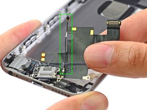 SOLVED: iPhone 6 cellular antenna location/replacement