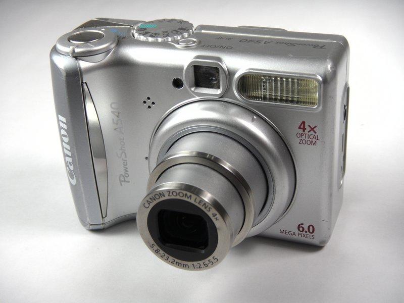 canon powershot a540 repair ifixit rh ifixit com Canon SX260 Canon S60