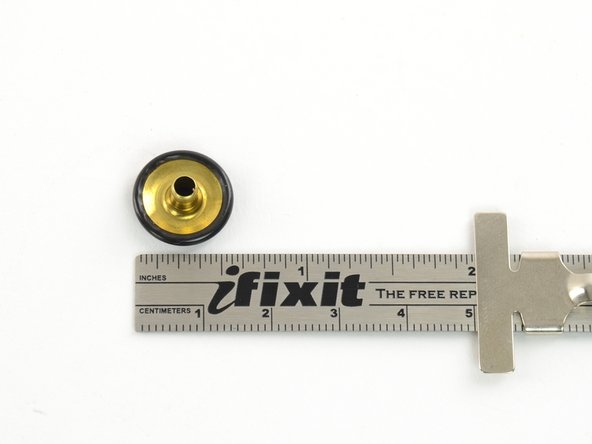 "Image 1/2: Measure the diameter of the components to ensure that they are the correct size. These are 1/2"" in diameter."