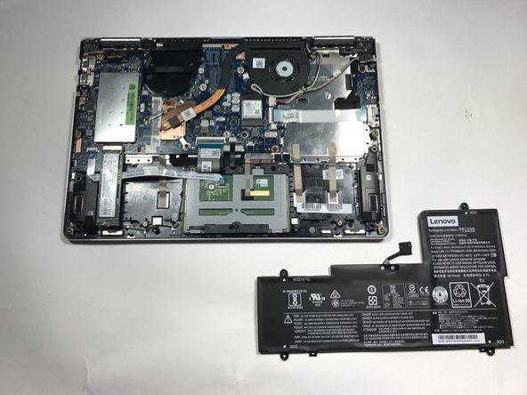 Lenovo Yoga 710-14IKB Vervanging van de batterij
