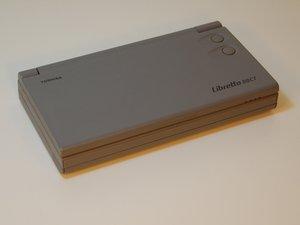 Toshiba Libretto 50CT Teardown