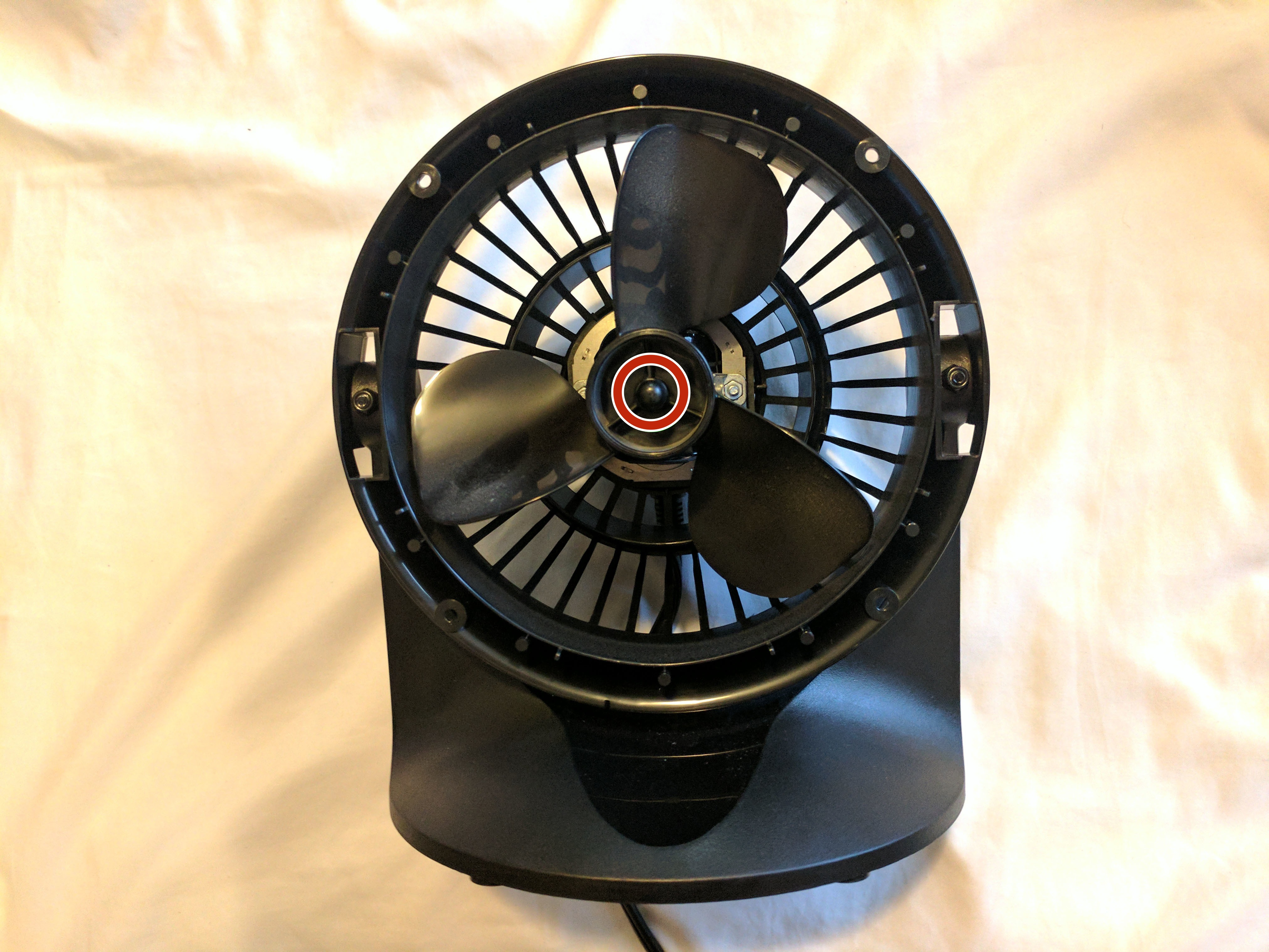 Vornado 133 Repair Ifixit Heater Wiring Diagram Fan Blades