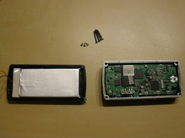 Removed the back of the case and the PCB screws. I had to drill open one of the case screws as it was stuck.