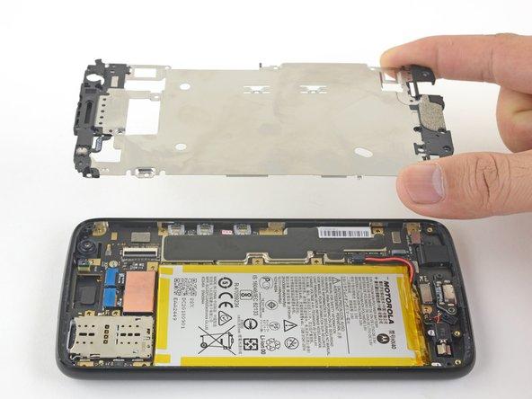 Motorola Moto X4 Midframe Replacement Prerequisite