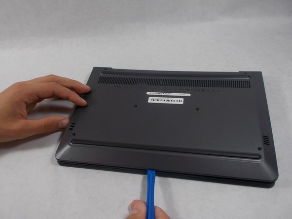 Once all seven screws are removed, you can pry the case off using your fingers or a plastic opening tool.