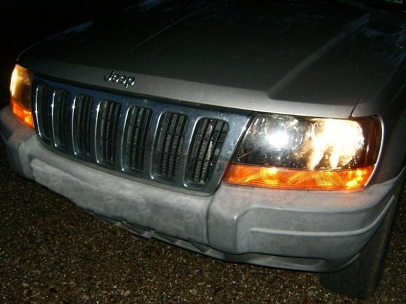 Change the bulb and the result will be fully functional headlights.