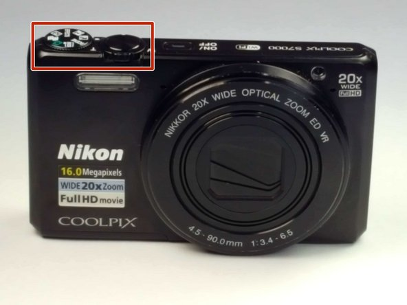 Nikon Coolpix S7000 Sticky Button Replacement