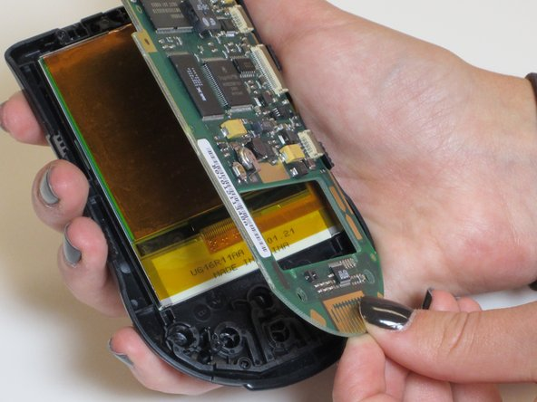 Remove rear cover by gently lifting it up from the bottom. To remove the front cover, flip the device over, and then separate the screen/circuit board from the cover.