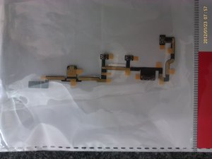 Replace Power ON/OFF Flex Cable