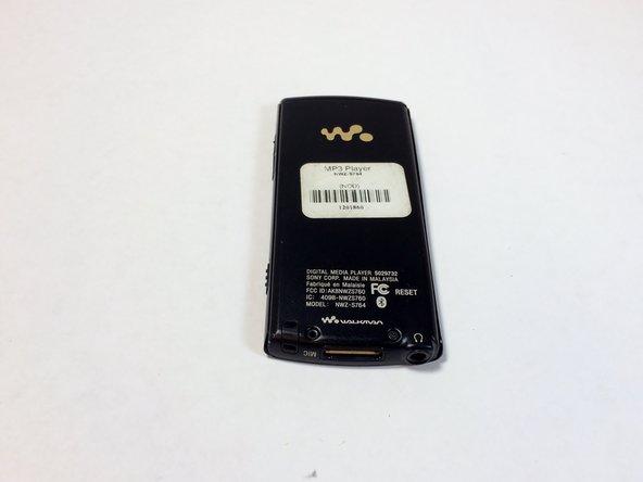 Sony Walkman NWZ-S764 Frame Replacement