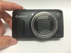 Canon PowerShot SX260 HS Repair