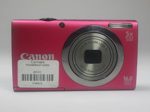 Canon PowerShot A2300 Troubleshooting