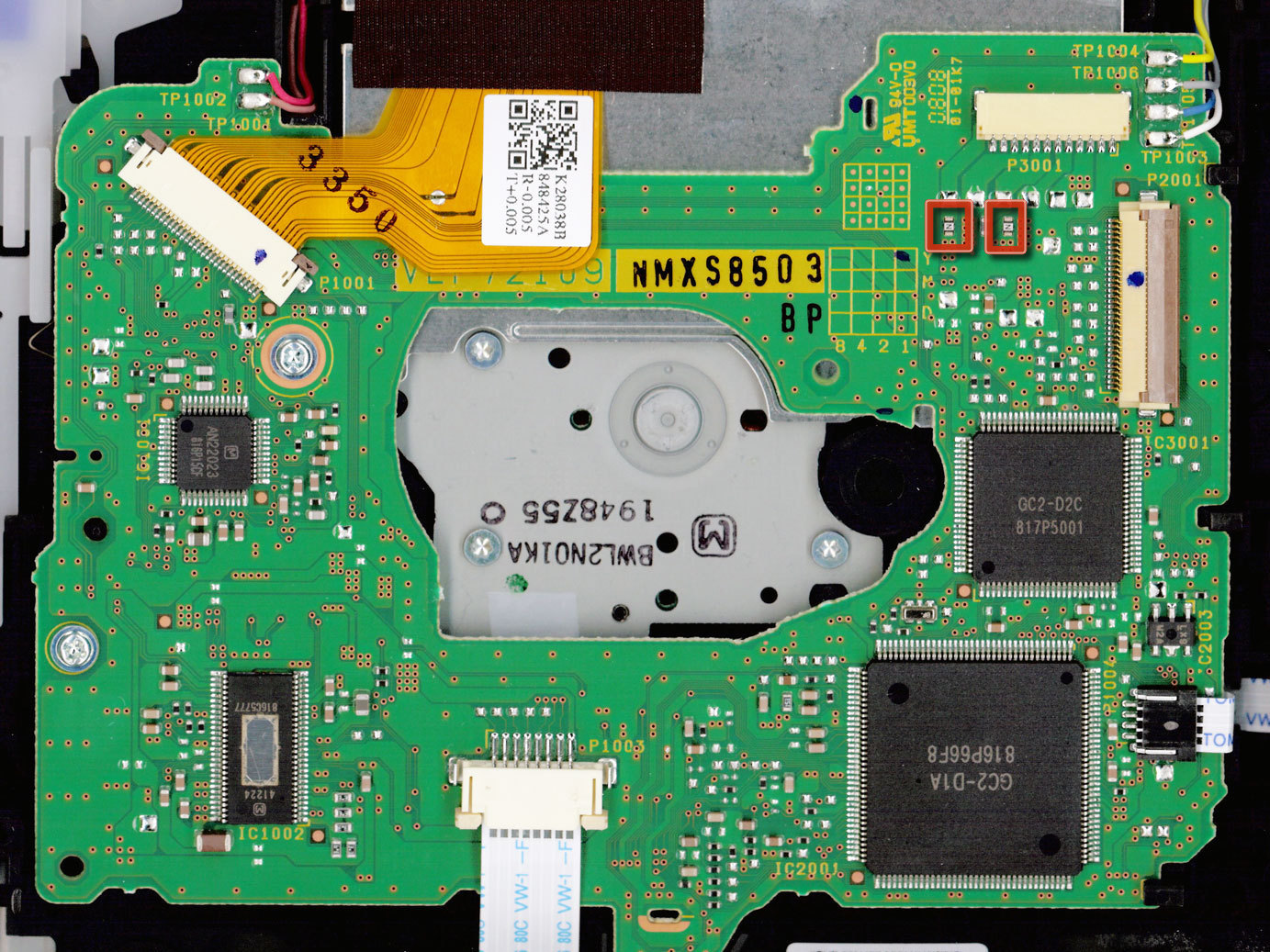 how to replace the disc drive in a wii