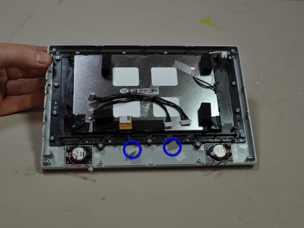 Polaroid LCD-0700P Front Panel Buttons Replacement