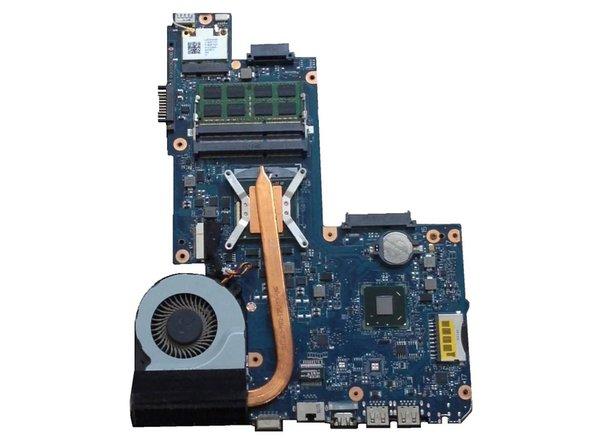 Toshiba Satellite C850 Thermal Paste Replacement