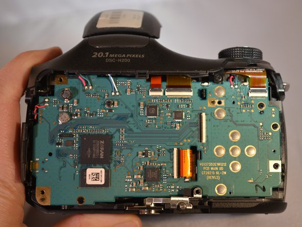 Sony Cyber-shot DSC-H200 Motherboard Replacement
