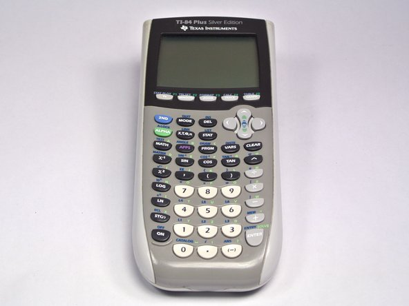 TI-84 Plus Silver Edition Faceplate Replacement