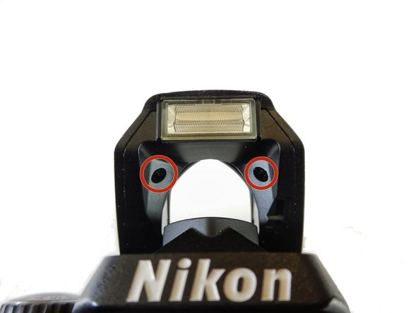 Nikon D40 Flash Pin Replacement