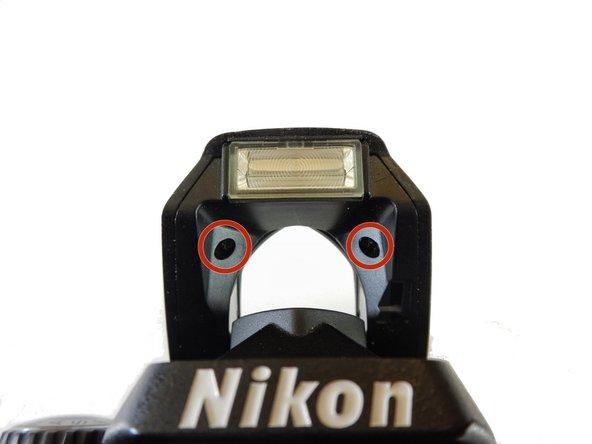 Nikon D40 Flash Pin Replacement