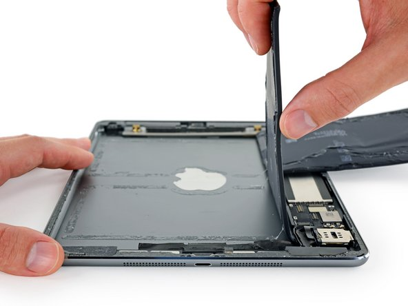 Don't try to fully remove the battery yet.
