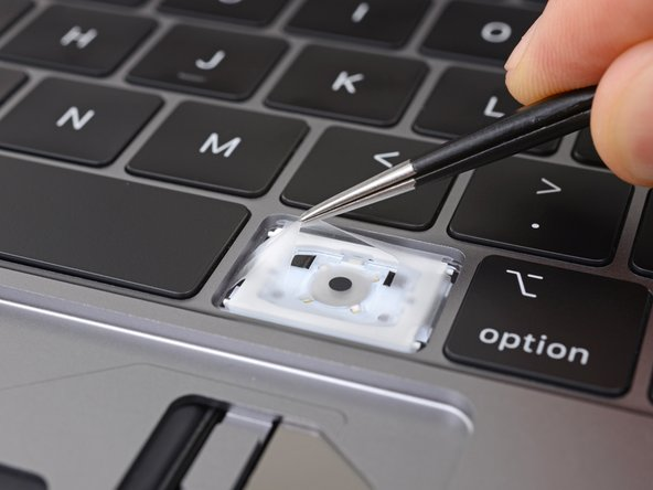 Butterfly keyboard that caused the macbook keyboard issue