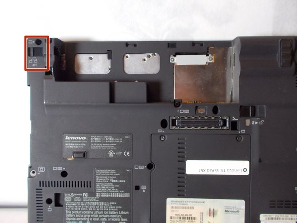 Lenovo ThinkPad X61 Battery Replacement