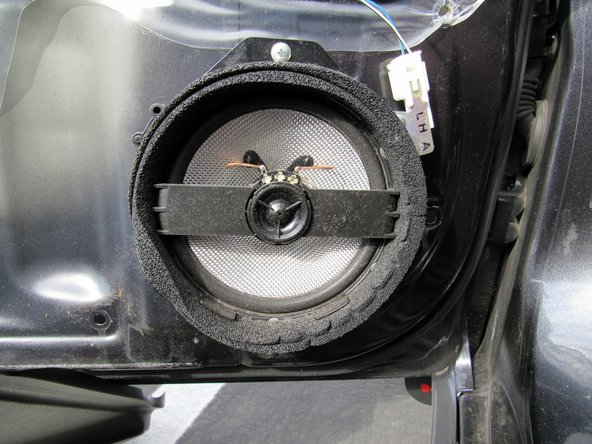 2009 Subaru Impreza WRX Front Speaker Replacement