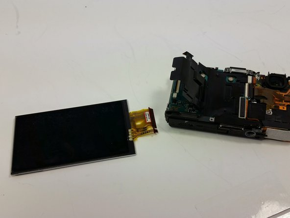 Sony Cyber-shot DSC-TX7 LCD Screen Replacement