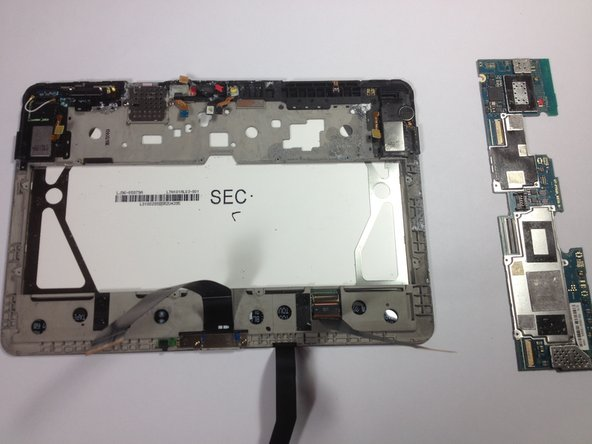 Samsung Galaxy Tab 10 1 Motherboard Replacement