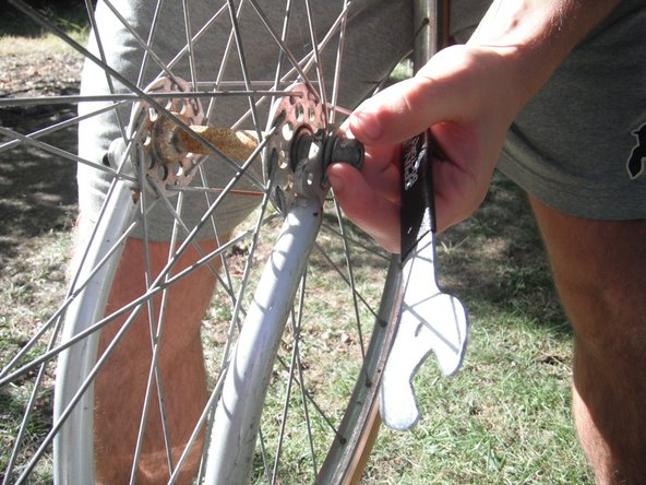 Removing Nishiki Aero II Front Wheel