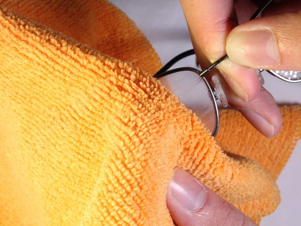 Image 2/3: You may need multiple cloths, as the wax sticks to the cloth easily.