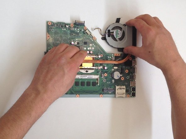 Careful install the Cooling system with even pressure from all sides, and the bead that you placed on the surface will spread over the entire contact surface.