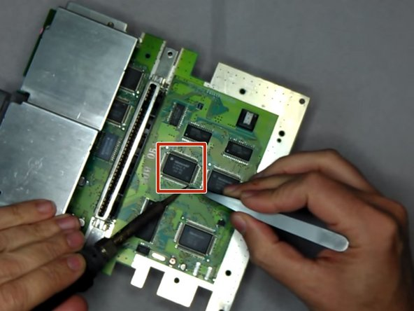 Lift up the PPU2 Pin 30 from the Motherboard
