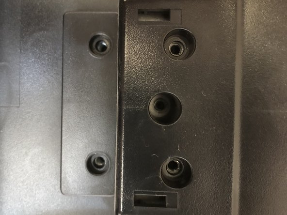 There are 12 screws connecting the back of the laptop to the front, make sure to keep track  of the screws and put them back in the correct spot.