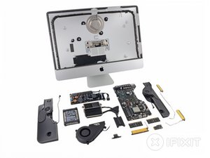 "iMac Intel 21.5"" EMC 2544 Teardown"