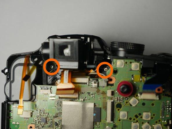 Remove 2 silver (0.8mm) screws
